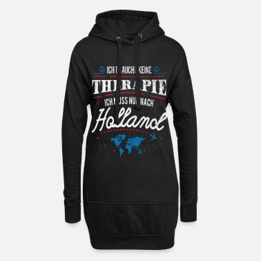 Holland Holland - Hoodie kjole dame