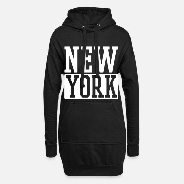 Ny New York - Frauen Hoodiekleid