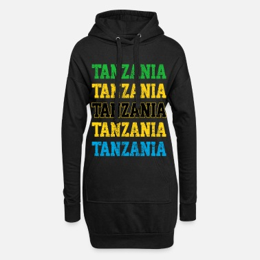 Commemoration Commemorating Tanzania - Women's Hoodie Dress