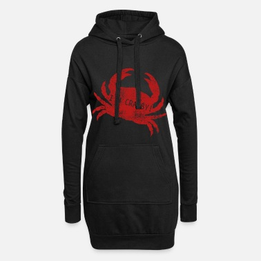 Crab Crab crab - Women's Hoodie Dress