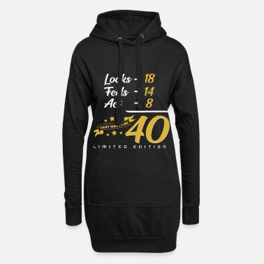 40th 40th birthday - Women's Hoodie Dress