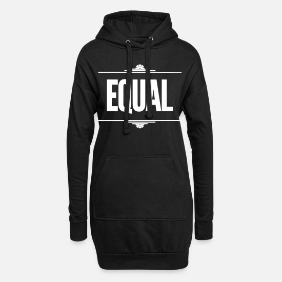 Equality Hoodies & Sweatshirts - Equal - Women's Hoodie Dress black