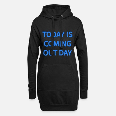 Coming Out Coming out day - Women's Hoodie Dress