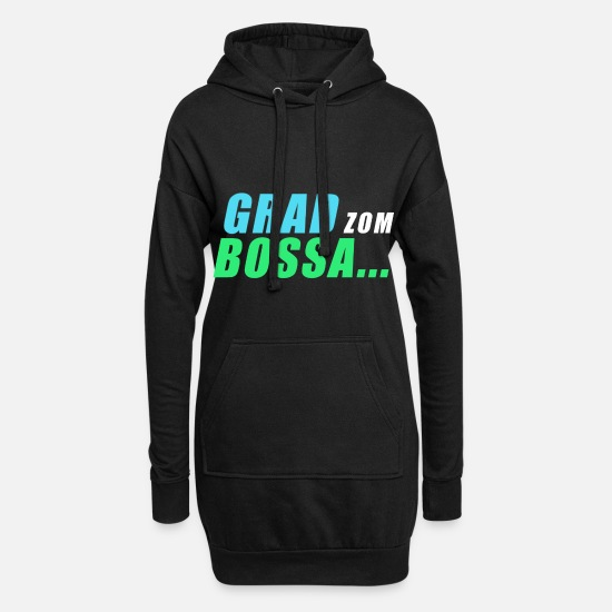 Swabia Hoodies & Sweatshirts - Degree from Bossa - Women's Hoodie Dress black