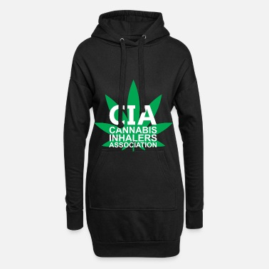 Association Association des inhalateurs de cannabis - Robe sweat Femme