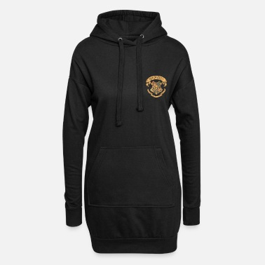 Harry Potter Hogwarts Coat of Arms small - Hoodie klänning dam