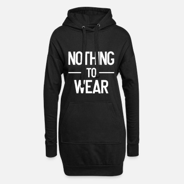Wear nothing to wear - nothing to wear - nude - Women's Hoodie Dress
