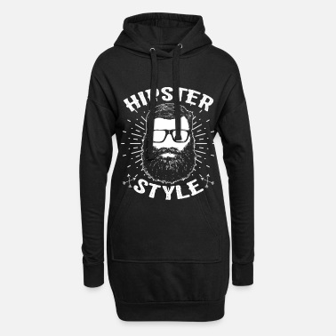 Hipster Hipsters hipster - Women's Hoodie Dress