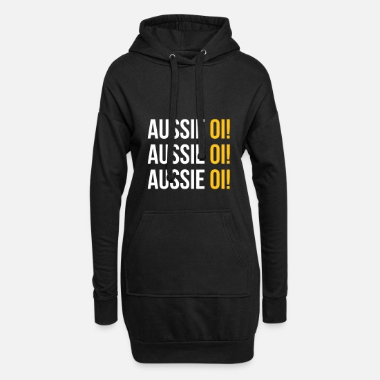 Sidney Hoodies & Sweatshirts - Australia - Aussie Oi! - Women's Hoodie Dress black
