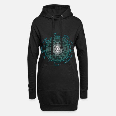 Alien Alien aliens - Women's Hoodie Dress