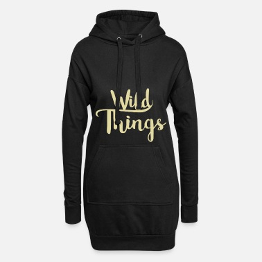 Wild Wild things - Women's Hoodie Dress