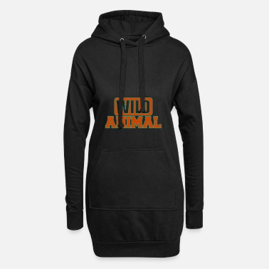 Wild Animal Parks Wild animal - Wild animals - Women's Hoodie Dress