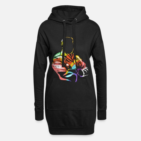 Treatment Hoodies & Sweatshirts - Internistin - Women's Hoodie Dress black
