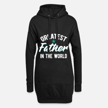 Fathers Day Father Best Father Father's Day - Women's Hoodie Dress