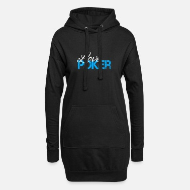 Pik Love Poker - Women's Hoodie Dress