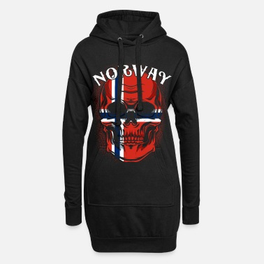 Norge Norge - Hoodie kjole dame