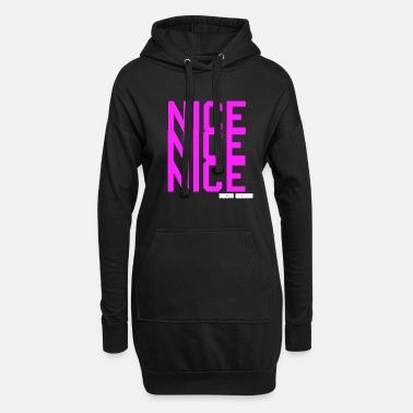 Nice nice nice nice - Women's Hoodie Dress