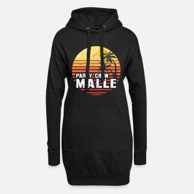 Malle party crew - Robe sweat Femme