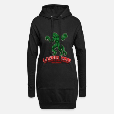 Legendär Monster Bestie Demon Kryptid Legendär Geschenk - Frauen Hoodiekleid
