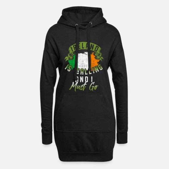 Angleterre Sweat-shirts - Irlande - Robe sweat Femme noir