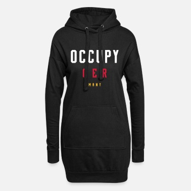 Occupy OCCUPY GERMANY - Frauen Hoodiekleid