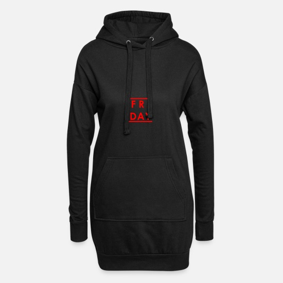 Gift Idea Hoodies & Sweatshirts - Friday - Women's Hoodie Dress black