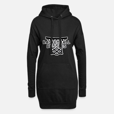 King Basketball buddies - Women's Hoodie Dress