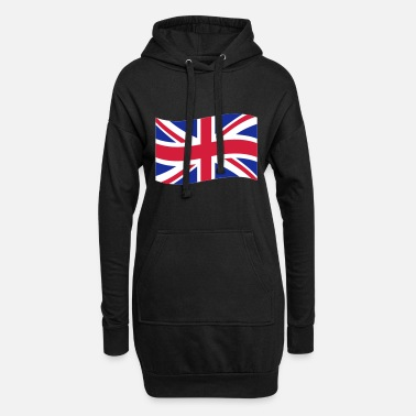 Uk UK - Frauen Hoodiekleid