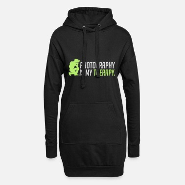 Therapy Photography is my therapy - therapy - Women's Hoodie Dress