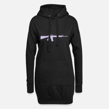 Machine Gun Machine Gun - Women's Hoodie Dress