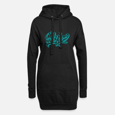 Graffiti style graffiti - Frauen Hoodiekleid