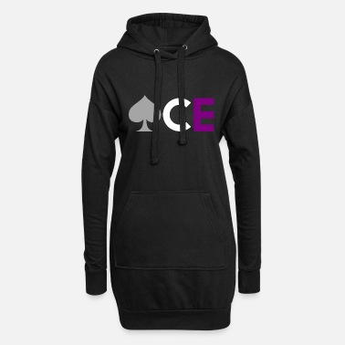 Asexual Asexual Pride Ace Asexuality - Women's Hoodie Dress