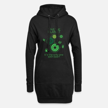 Planet Save the planet - Women's Hoodie Dress