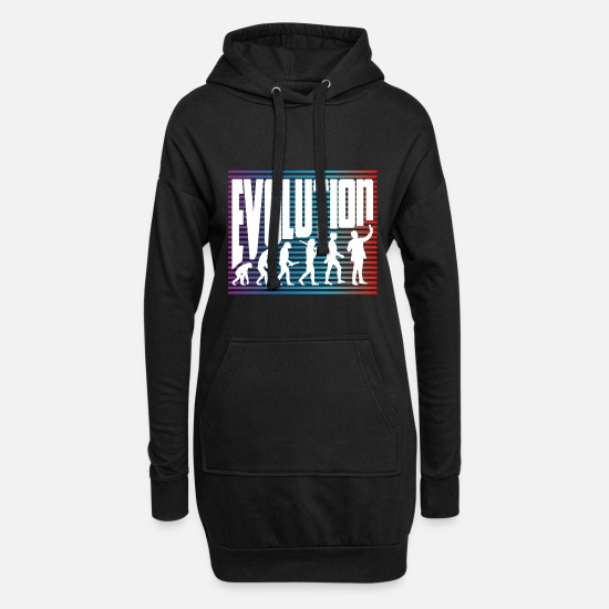 Gift Idea Hoodies & Sweatshirts - evolution - Women's Hoodie Dress black