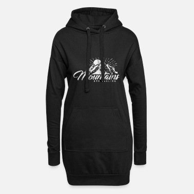 Mountains Mountains Are Calling Mountain Mountaineers - Women's Hoodie Dress