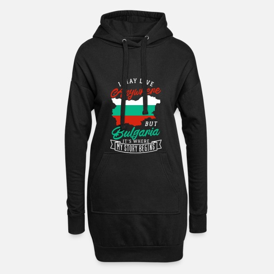 Patriot Hoodies & Sweatshirts - Bulgaria - Women's Hoodie Dress black