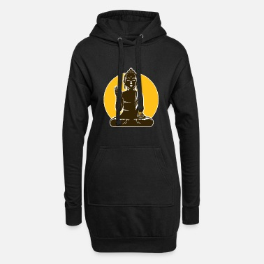 Wealthy Wealthy Buddha - Women's Hoodie Dress
