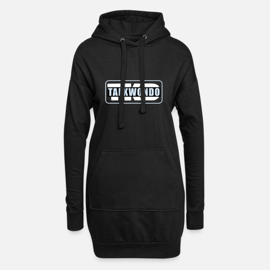 Mma Sweat-shirts - Taekwondo - Robe sweat Femme noir