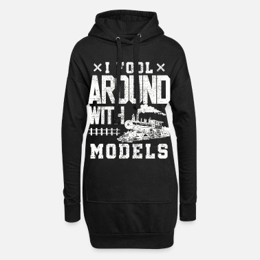 Train Model train train trains - Women's Hoodie Dress
