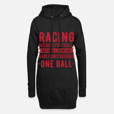 Motorsport Motorsport Ball - Frauen Hoodiekleid