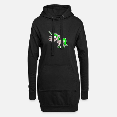 Funny Unicorn Funny unicorn - Women's Hoodie Dress