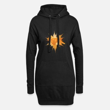 Splatter Fox Splatter - Robe sweat Femme