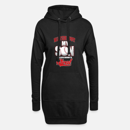 Birthday Hoodies & Sweatshirts - son - Women's Hoodie Dress black