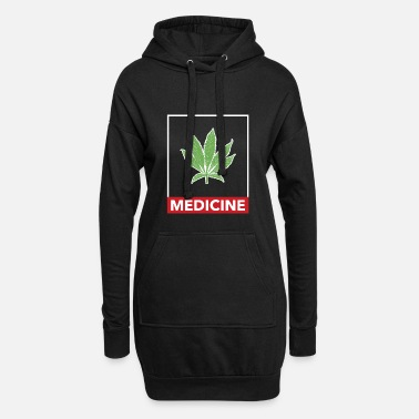 Hashish Marijuana cannabis weed hashish hemp - Women's Hoodie Dress