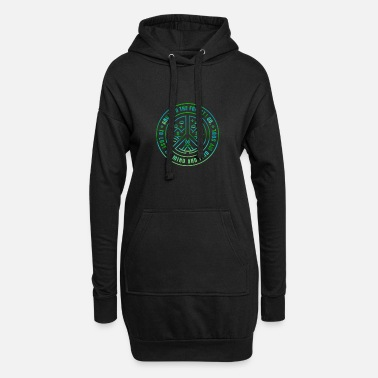 Forest And Into The Forest I Go - Camping Lover - Women's Hoodie Dress