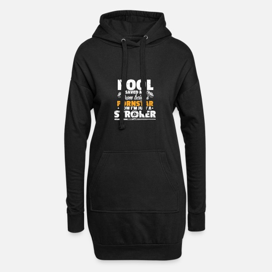 Koe Sweat-shirts - Billard piscine - Robe sweat Femme noir