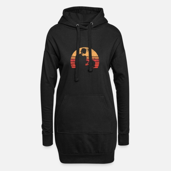 Gift Idea Hoodies & Sweatshirts - Dentist dental treatment - Women's Hoodie Dress black