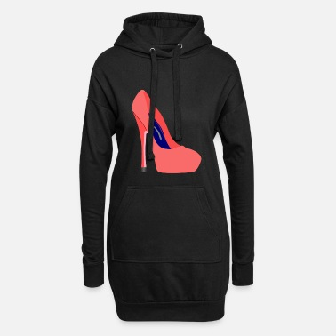 Highheels Highheels stiletto shoe - Women's Hoodie Dress