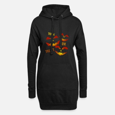 Trick Or Treat Trick or Treat Trick or treat - Women's Hoodie Dress