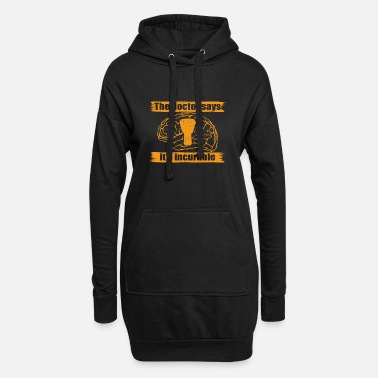 doctor doc says incurable diagnosis trommel bongo - Women's Hoodie Dress